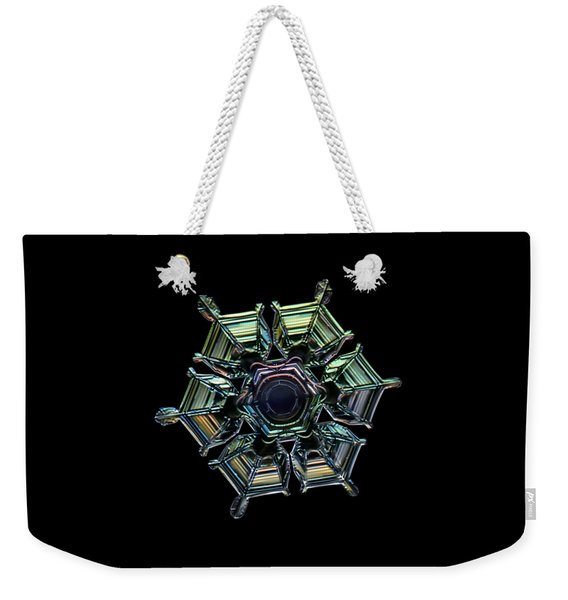 Ice Relief, Black Version Weekender Tote Bag