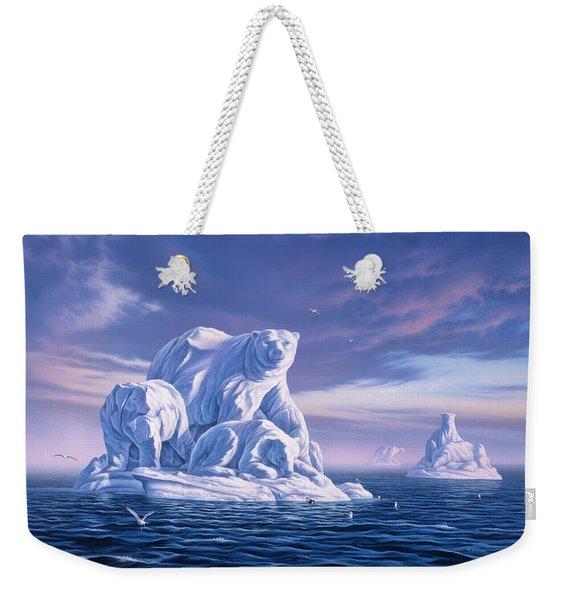 Icebeargs Weekender Tote Bag