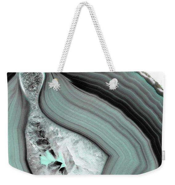Iced Agate Weekender Tote Bag