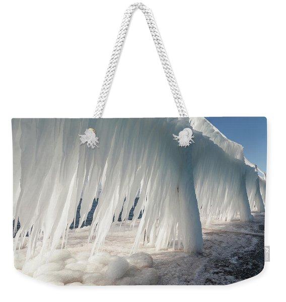 Iced Catwalk Weekender Tote Bag