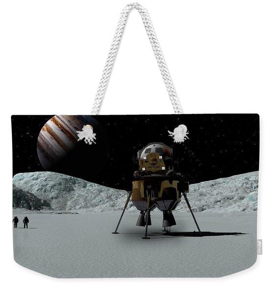Icefield Landing Weekender Tote Bag