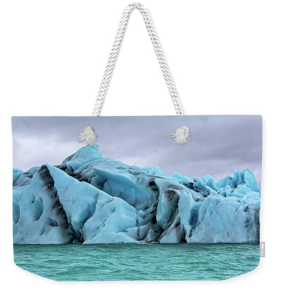 Iceland The Magical Glacier Land Weekender Tote Bag