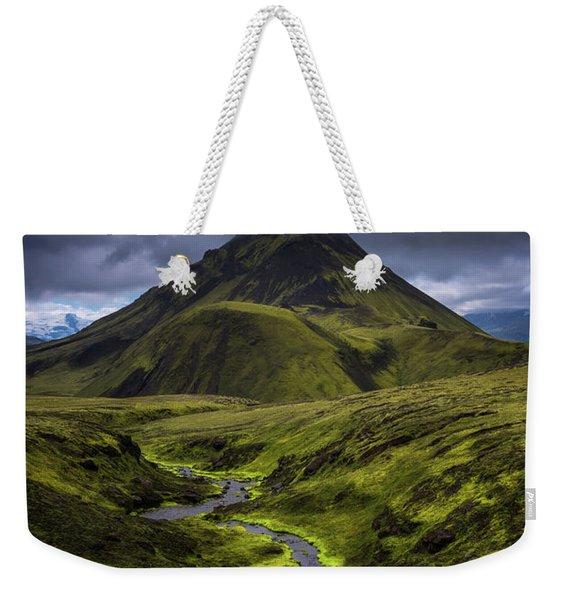 Icelandic Highlands Weekender Tote Bag