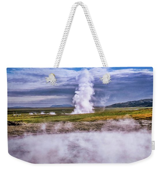 Icelandic Hydrothermal Activity Weekender Tote Bag