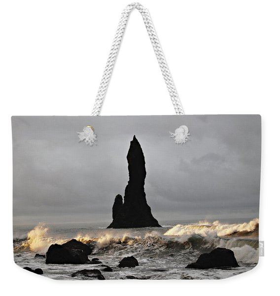 Icelandic Monolith Weekender Tote Bag