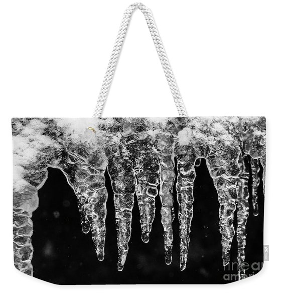 Icicles I Weekender Tote Bag