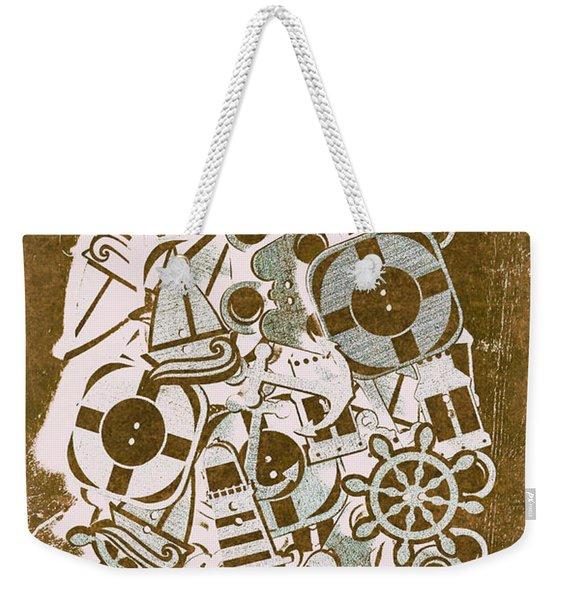 Icon Island Weekender Tote Bag