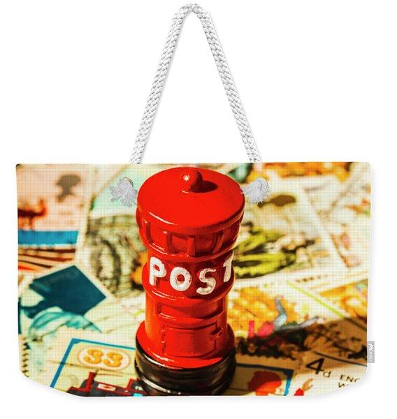 Iconic British Mailbox Weekender Tote Bag
