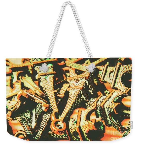 Iconic French Eiffel Towers  Weekender Tote Bag