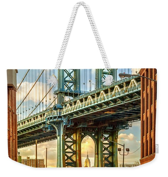 Iconic Manhattan Weekender Tote Bag