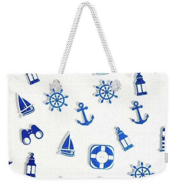 Iconic Nautics Weekender Tote Bag