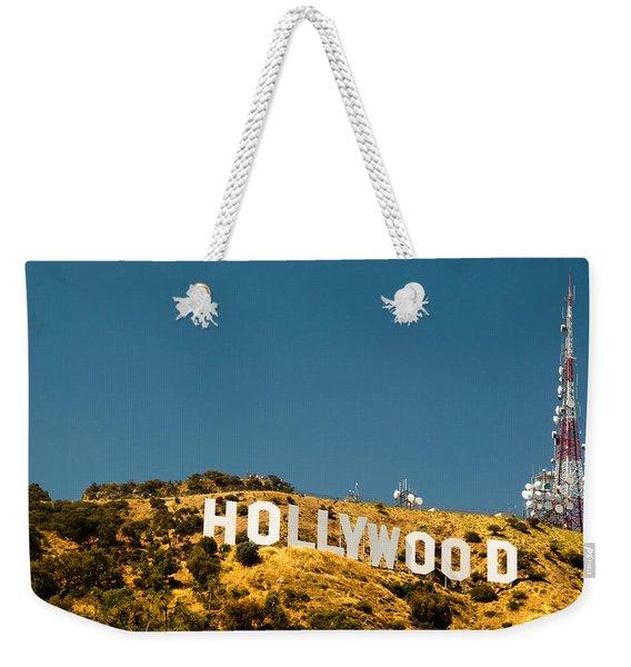 Iconic Shot - Beachwood Canyon Weekender Tote Bag