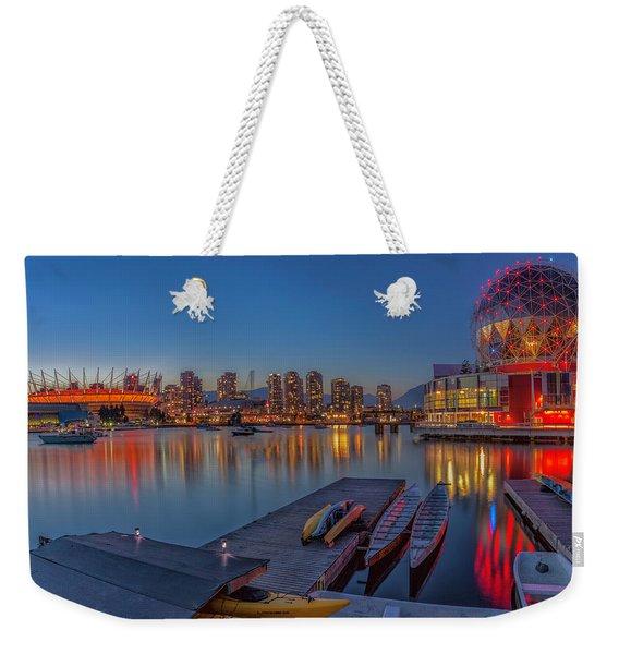 Iconic Vancouver Weekender Tote Bag