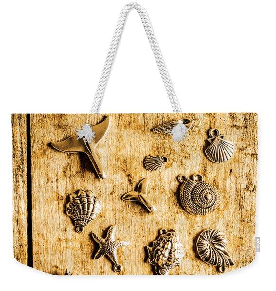 Icons In Nautical Elegance Weekender Tote Bag