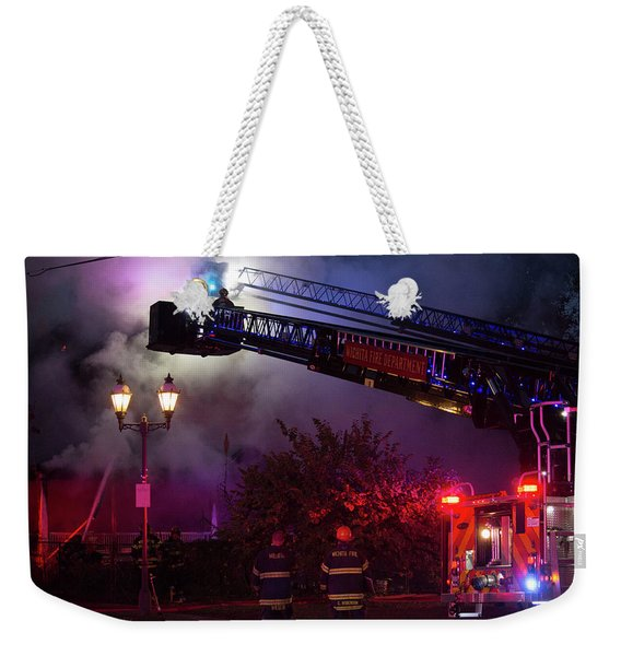 Ict - Burning Weekender Tote Bag
