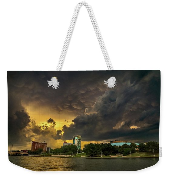 ict Storm - High Res Weekender Tote Bag