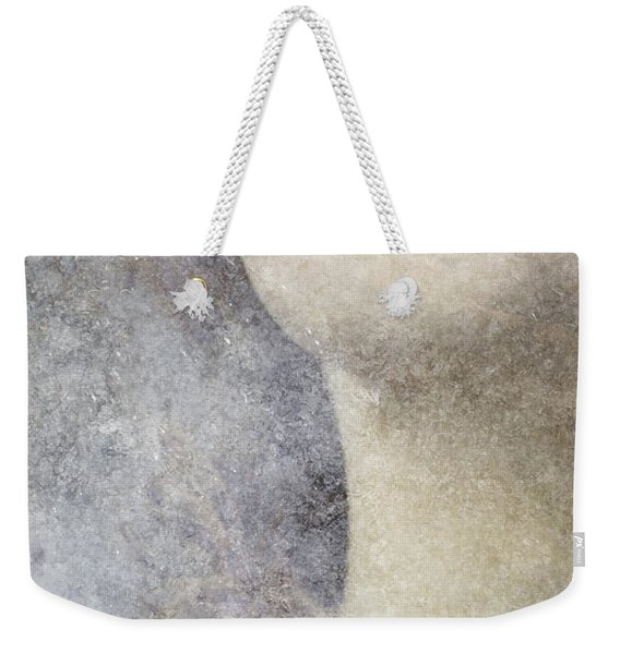 Weekender Tote Bag featuring the photograph Icy Portrait by Clayton Bastiani