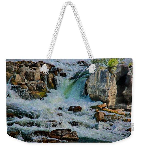 Idaho Falls Weekender Tote Bag