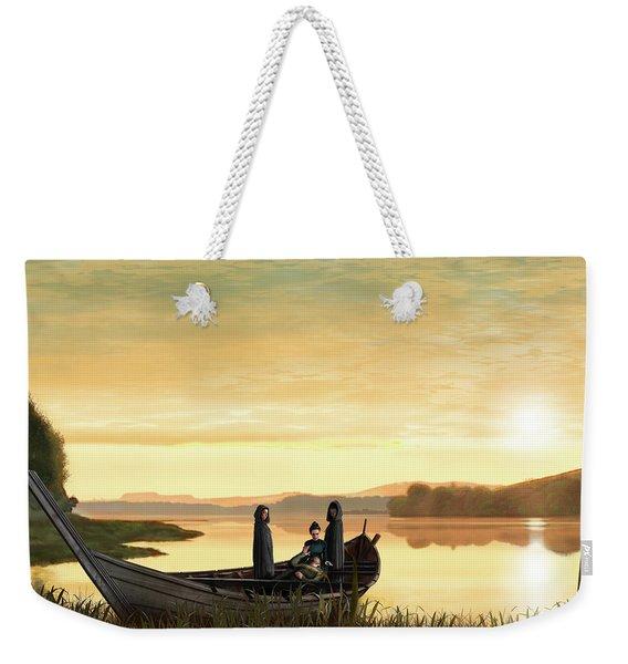 Idylls Of The King Weekender Tote Bag