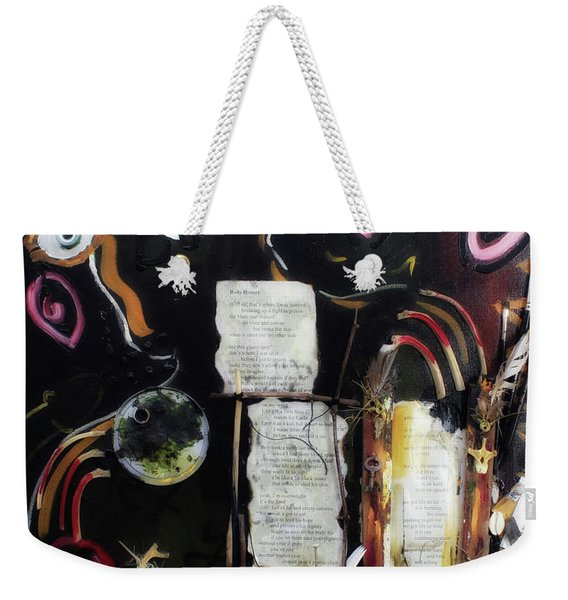 If Boys Could Cry Weekender Tote Bag