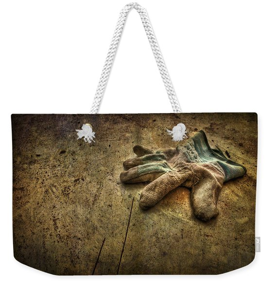 If The Glove Doesn't Fit........ Weekender Tote Bag