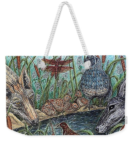 If They Can Share..? Weekender Tote Bag