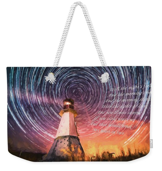 If You Close Your Eyes Too Weekender Tote Bag