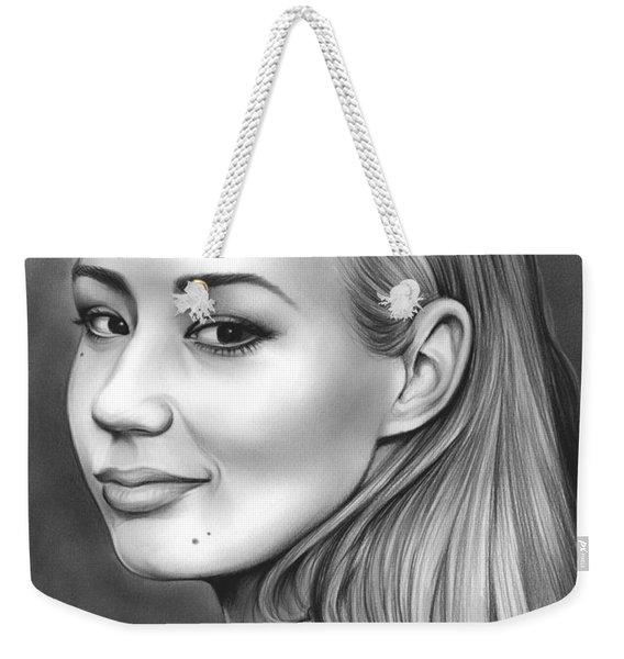 Iggy Azalea Weekender Tote Bag