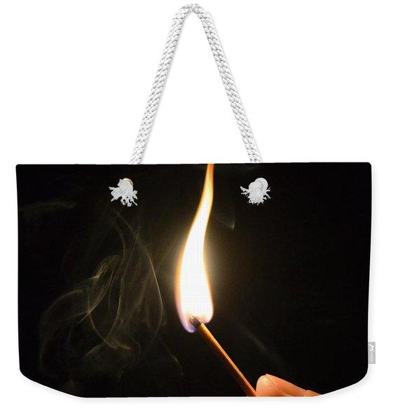 Ignition Weekender Tote Bag