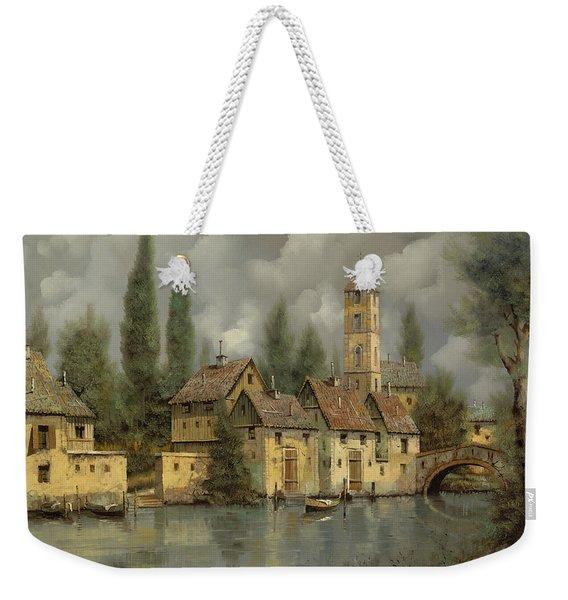 Il Borgo Sul Fiume Weekender Tote Bag