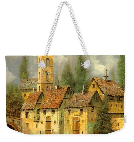 Il Campanile Di Villa Giusti Weekender Tote Bag