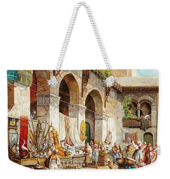 Il Mercato Arabo Weekender Tote Bag