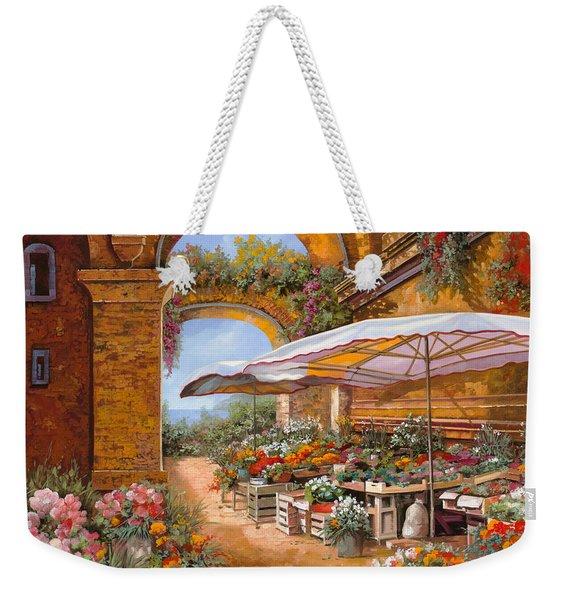 Il Mercato Sotto I Portici Weekender Tote Bag