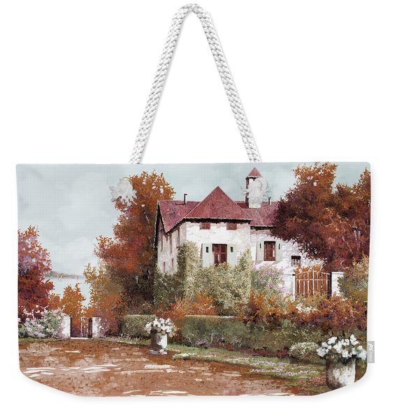 Il Palazzo In Autunno Weekender Tote Bag