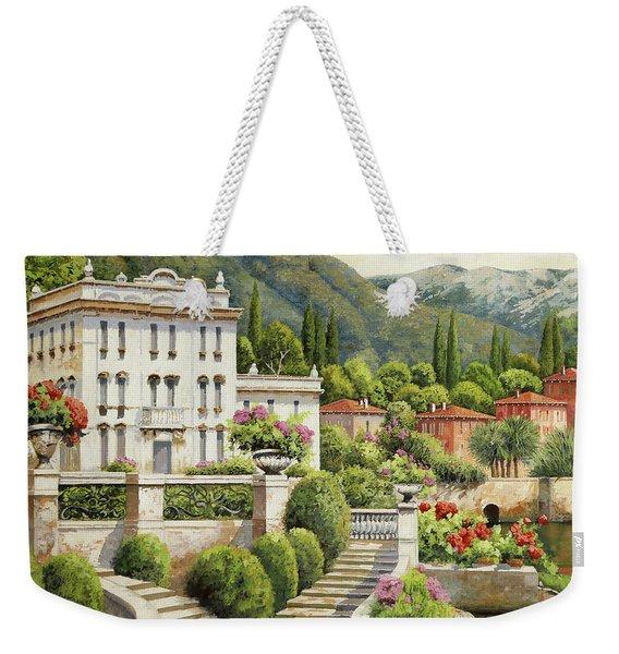 Il Palazzo Sul Lago Weekender Tote Bag