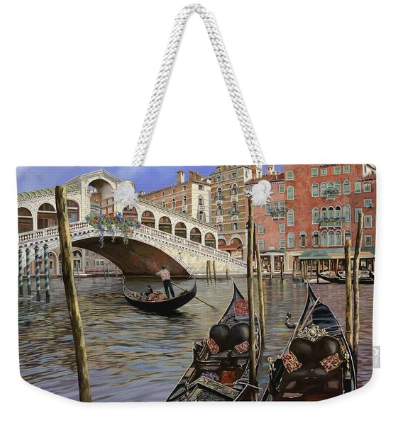 Il Ponte Di Rialto Weekender Tote Bag
