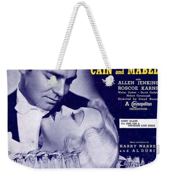 I'll Sing You A Thousand Love Songs Weekender Tote Bag