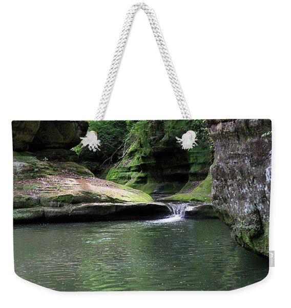 Illinois Canyon Summer Weekender Tote Bag