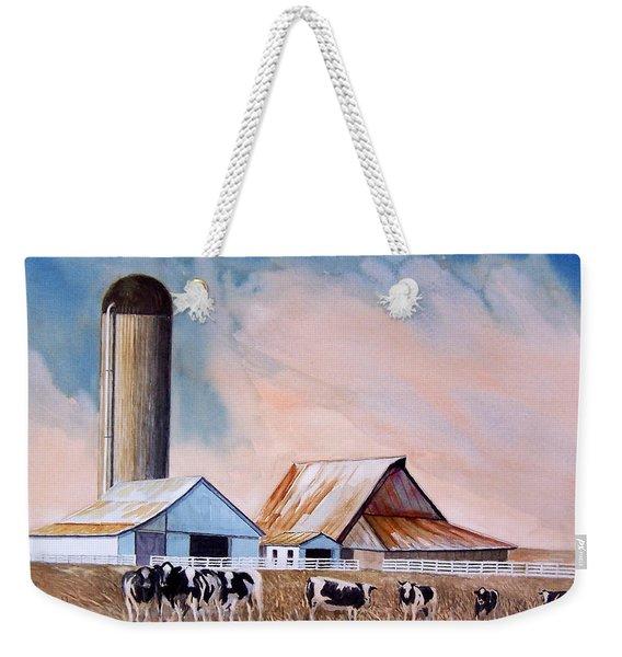 Illinois Farm Weekender Tote Bag