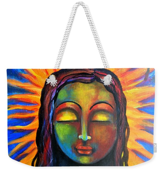 Illuminated By Her Own Radiant Self Weekender Tote Bag