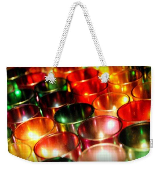 Illuminated Prayers Weekender Tote Bag