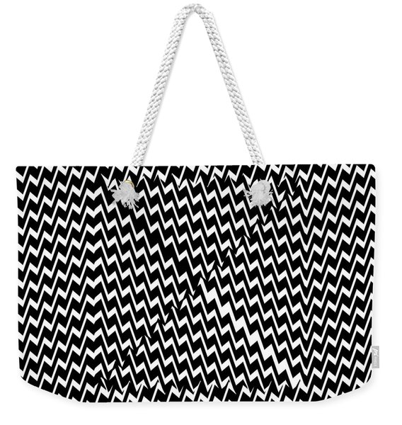 Illusion Exemplified Weekender Tote Bag