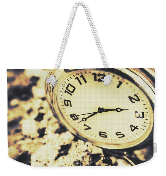 Illusive Time Weekender Tote Bag
