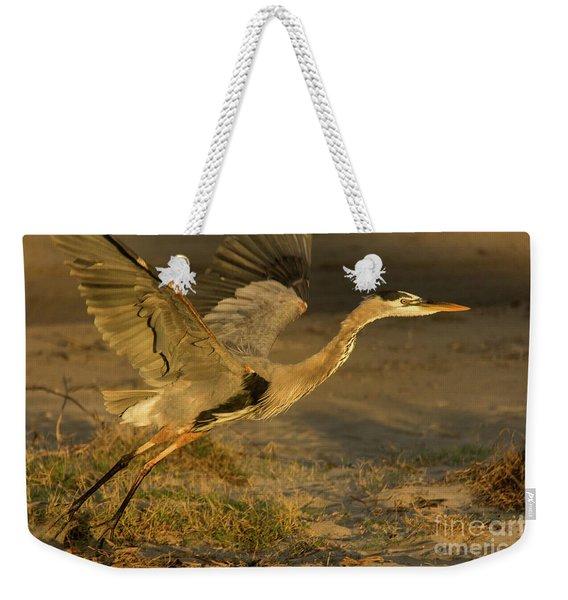 I'm Out Of Here Wildlife Art By Kaylyn Franks Weekender Tote Bag