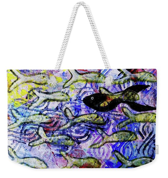 I'm The Black Fish Of The Family Weekender Tote Bag