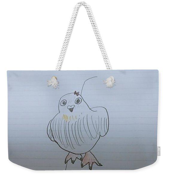 Image Diagram Weekender Tote Bag