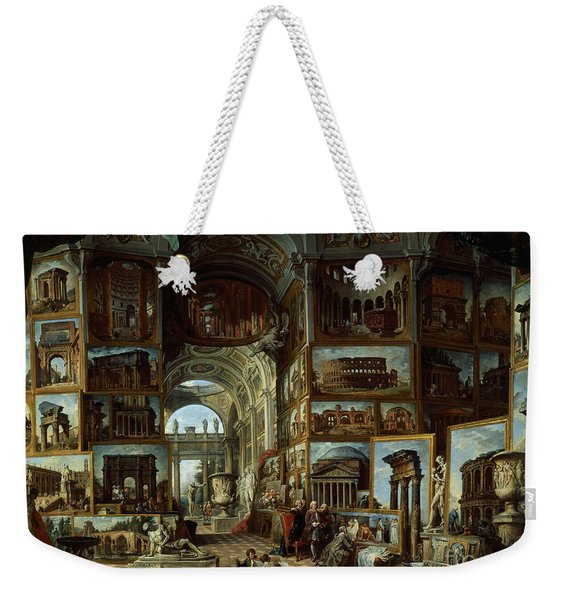 Imaginary Gallery Of Views Of Ancient Rome Weekender Tote Bag