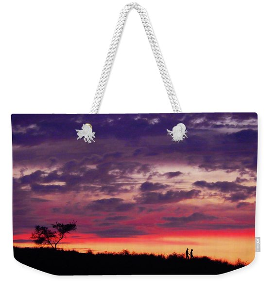 Imagine Me And You Weekender Tote Bag