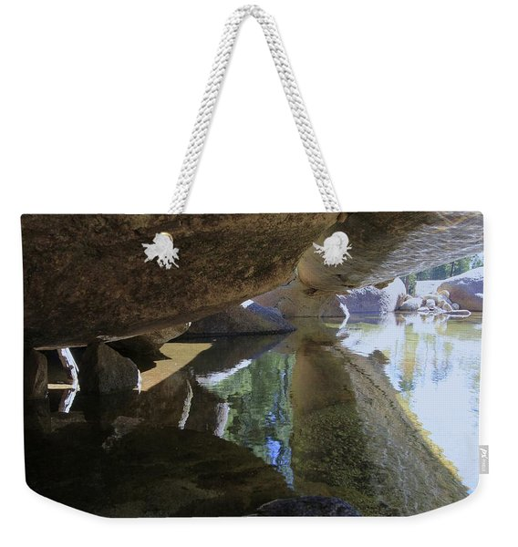 Weekender Tote Bag featuring the photograph Immerse Yourself...tell Me Where You Are by Sean Sarsfield