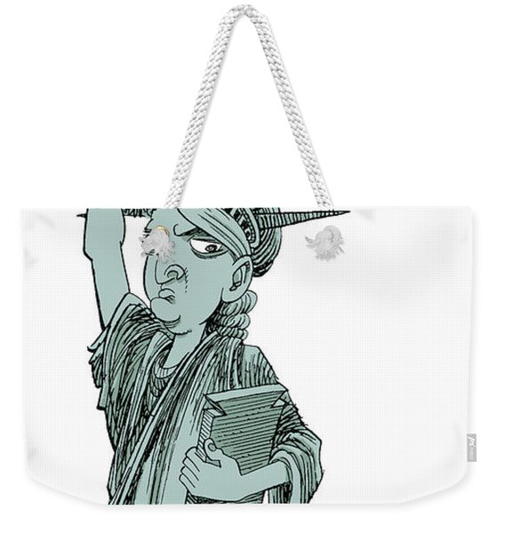 Immigration And Liberty Weekender Tote Bag